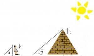 problemas del teorema de tales