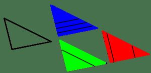 Aplicación del teorema de Tales