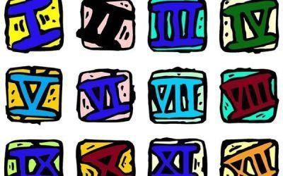 Números romanos. Las siete letras de un imperio