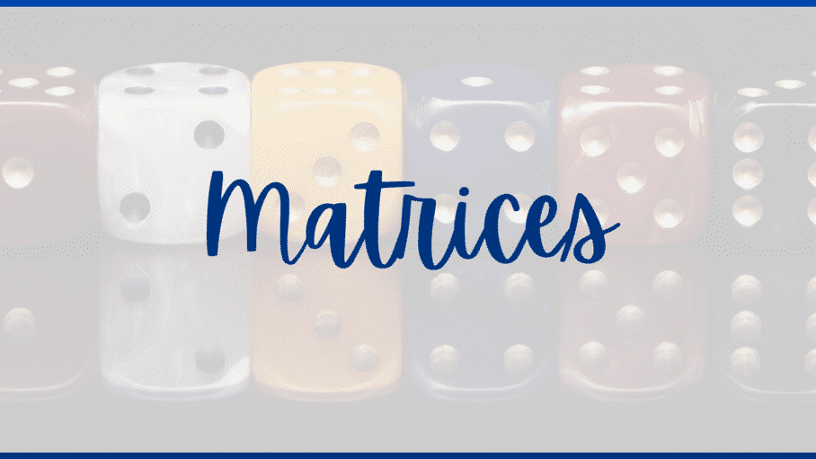 curso matrices