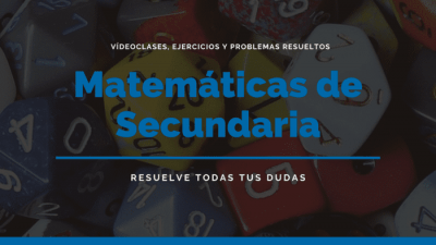 matematicas secundaria portada
