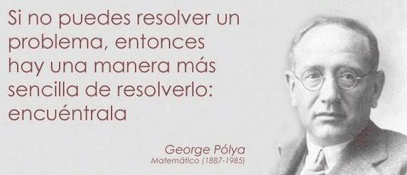 Frase de George Polya