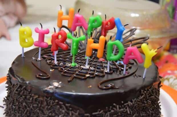 tarta problema del cumpleaños